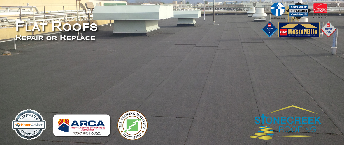flat roof repair in Phoenix AZ
