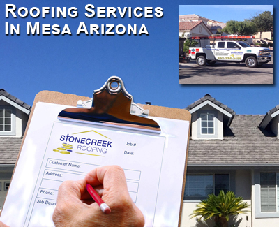 roofing services in Mesa