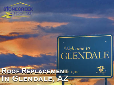 Glendale roof replacement