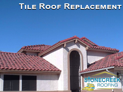 tile roof replacement in Phoenix